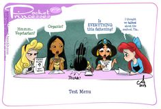 Pocket Princesses Test Menu Please From the way he talks, the head chef at my job seems to feel a bit like Tia. Disney Pixar, Walt Disney, Gif Disney, Cute Disney, Disney And Dreamworks, Disney Magic, Disney Characters, Disney Girls, Disney Facts