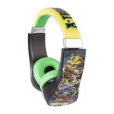 #Teenage Mutant Ninja Turtles Over the Ear #Headphone #TeenageMutantNinjaTurtles #Sakar
