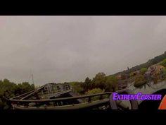 Dizz - Roller Coaster - On Ride - Bobbejaanland - HD