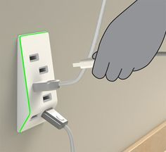 Have you suddenly found yourself with more USB-powered devices than you have USB outlets on your computer? The Bolt USB Outlet, designed by Jeffrey Pettit, takes the place of an electrical outlet and gives you six USB plugs that you can use to charge all of your various important things. The Bolt plugs into a [...]