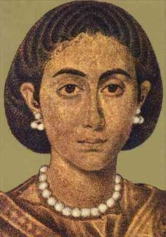Galla Placidia (392-450) - daughter of Theodosius I and mother of Valentinian III. She was captured by the Goths before the fall of Rome, and was held hostage for 5 years. She married Ataulf, the Gothic king, and gave birth to his son, Theodosius, but the baby died. Following Ataulf's death, she was returned to Rome & forced to marry Constantius III. After his death, fled Ravenna to Constantinople. After Honorius's death, served as regent for her son. Conflict with Aetius.