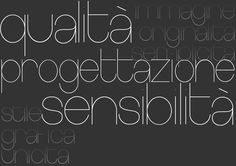 qualità progettazione sensibilità