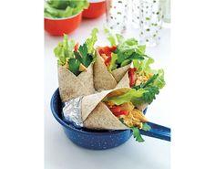 Supre kyllingwraps som er sunne og smaker godt, passer like bra i matpakken som hjemme Sashimi, Guacamole, Pesto, Risotto, Tacos, Dressing, Mexican, Ethnic Recipes, Food