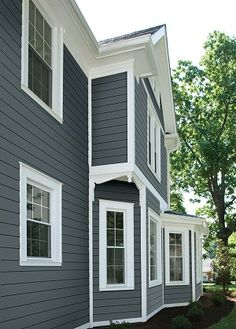 Custom Exterior Project with James Hardie Board Planks Siding in Etobicoke http://xteriormakeovers.ca/james-hardie-board-siding-contractor-etobicoke.html