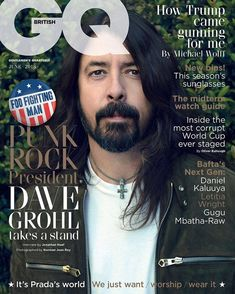 Dave Grohl - British GQ magazine - June 2018
