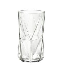 Amazon.com: Bormioli Rocco Cassiopea Cooler Glass, Set of 4