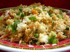 I got this recipe from a Kikkoman booklet. I made it for the first time around 1993 and it was so good I never tried another fried rice recipe ever since.
