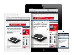 iPad mini, iPad Air, iPad small