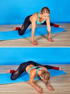 Ces 6exercices t'aideront àpouvoir réaliser rapidement cegrand écart dont tuasrêvé toute tavie Low Impact Workout, Yoga For Weight Loss, Vinyasa Yoga, Keep Fit, Yoga Benefits, Yoga Sequences, Training Plan, Burn Calories, Yoga Fitness