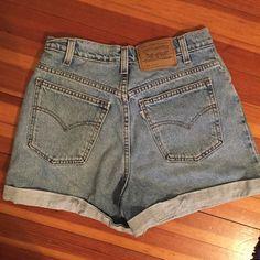 LEVI SHORTS Adorable Levi short, perfect for summer!:) Levi's Shorts Jean Shorts