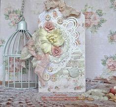 """В мире бумажного волшебства: Первый этап - СП Spring Shabby Tea """" Теги"""""""