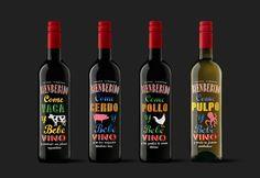 Bienbebido #wine by Moruba #labeling