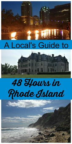 Spend 48 Hours in the smallest of the US States- Rhode Island. Experience our ex… Spend 48 Hours in the smallest of the US States- Rhode Island. Experience our extensive coastline, gilded history and New England towns. Places To Travel, Places To See, Travel Destinations, Travel Stuff, Alaska, Newport Rhode Island, Providence Rhode Island, Westerly Rhode Island, Narragansett Rhode Island