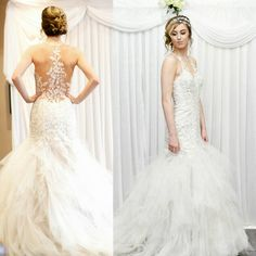 We fell in love with this stunning show stopping laced and ruffled Wedding Dress by ☞ @weddingcollectionwirral ☜ Our model looked stunning at our Wedding Fayre at the Holiday Inn Ellesmere Port! 💇 Hair by @claire_kendrick 💄 Make Up by @dwmakeupchester 🌼 Backdrop by @covers_and_bows 📸 @simonpeterphotographyuk #weddingdress #lace #ruffles #catwalk #RedEventFayres -RedEventuk #weddingfayre  #HolidayInnEllesmerePort