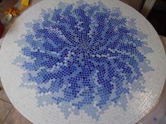 Fotos de  Tampo de Mesa Mosaico, lindo desenho
