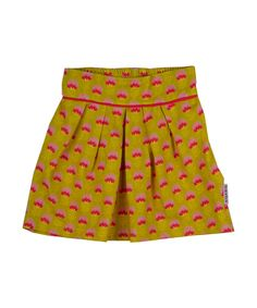 Belle jupe avec impression tulipes par Baba Babywear. baba-babywear.fr.emilea.be