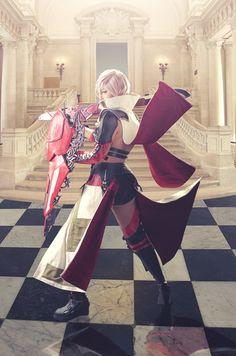 Lightning cosplay - Lightning Returns: Final Fantsy XIII by epi-corner on deviantART