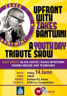 Upfront With Zakes Bantwini Live in Durban!