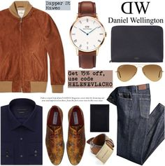 Use my Promo Code HELENEVLACHO and get 15% off: Dapper St Mawes Men/Daniel Wellington