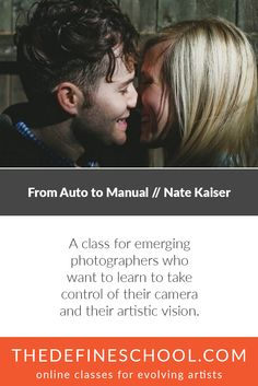 From Auto to Manual | Nate Kaiser | http://www.thedefineschool.com/learn/from-auto-to-manual/