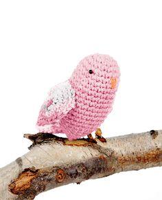 Hoooked Lovebirds (blossom) amigurumi crochet kit & pattern #crochet #gift #cute #animal #craft