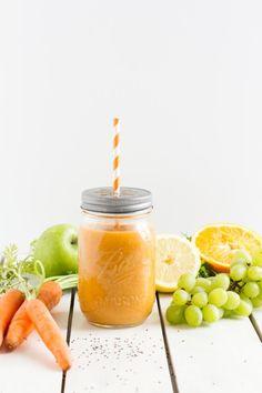 Karotten-Apfel-Orangen  Smoothie by Hase im Glück