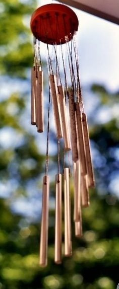 Windchimes instantly put me into summertime