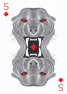 Five of Diamonds by Patrick Seymour – http://playingarts.com/two/patrick-seymour