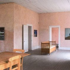 Inspiration notes: Donald Judd's Cobb House, Marfa TX @juddfoundation