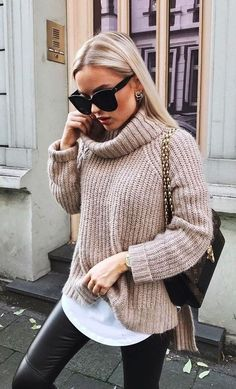 Winter Outfits For Teen Girls, Trendy Fall Outfits, Fall Winter Outfits, Casual Outfits, Casual Winter, Office Outfits, Winter Dresses, Black Outfits, Ootd Winter
