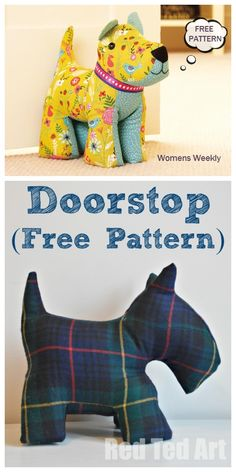 Most current Photos Sewing patterns for beginners Popular DIY Fabric Dog Toy Free Sewing Patterns Diy Sewing Projects, Sewing Projects For Beginners, Sewing Hacks, Sewing Tutorials, Sewing Tips, Sewing Ideas, Sewing Basics, Animal Sewing Patterns, Sewing Patterns Free
