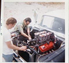 Vintage Drag Racing - Gasser - 55 Chevy - June 1967