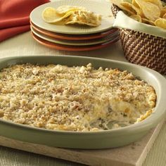 Jalapeno Popper Dip from Taste of Home.. This recipe is so good i swear i could just eat it with a spoon!