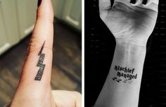 harry potter tattoos feat