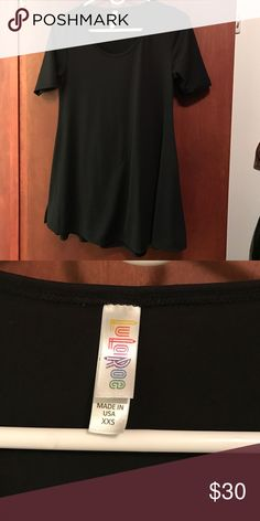 Lularoe Perfect Tee - xxs I Bought this top and washed it per the instructions, but I have not worn it. It just doesn't look right on my figure. LuLaRoe Tops Tunics