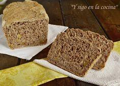 y sigo en la cocina: Pan integral con sirope de ágave y nuces