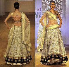 Beautiful Bridal Lehenga by Anju Modi http://anjumodi.com/ 2011