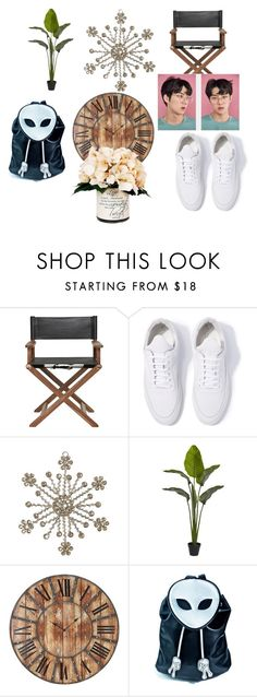 """PONYTAIL"" by efrat-kazoum on Polyvore featuring Filling Pieces, Cultural Intrigue, Nearly Natural, Home Decorators Collection, Current Mood and Creative Displays"