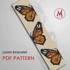 Peyote Beading Patterns, Seed Bead Patterns, Beaded Bracelet Patterns, Loom Beading, Cross Stitch Patterns, Beaded Bracelets, Bead Loom Designs, Seed Bead Flowers, Beaded Banners