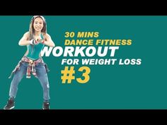 30 Mins Dance Fitness Workout for weight loss #3| Bài tập nhảy 30 phút g...