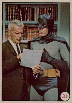 1966 Batman Cards Value | 1966 Batman Color Batman/Commissioner Gordon #31 Non-Sports Card Value ...