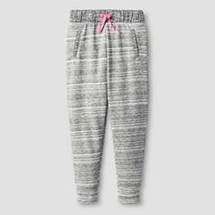 Girls' Knit Jogger Pant Cat & Jack™ - Heather Gray