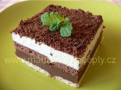 Pudinkové be-be řezy Pavlova, Graham Crackers, No Bake Desserts, Tiramisu, Sweet Recipes, Cheesecake, Food And Drink, Yummy Food, Sweets