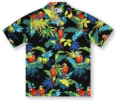 RJC Kalaheo 'Tropical Birds' Hawaiian Shirt from Aloha Shirt Shop |