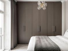 Bedroom Built In Wardrobe, Small Master Bedroom, Bedroom Closet Design, Home Room Design, Dream Home Design, Home Bedroom, Home Interior Design, Bedroom Decor, Best Bedroom Colors