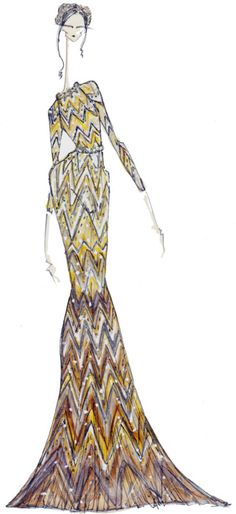 J.Larkowsky Illustration | Valentino Haute Couture Fall 2011: