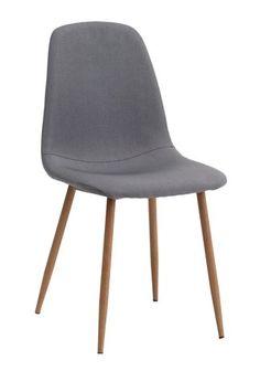 Ruokapöydän tuoli JONSTRUP harmaa/tammi | JYSK