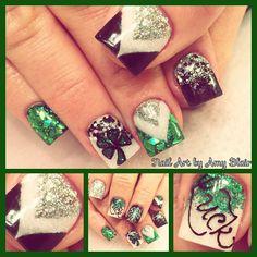 Instagram photo of acrylic nails by nailartbyamyblair