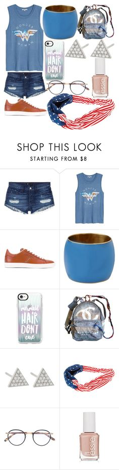 """Charlotte Wilson"" by hannah-graves ❤ liked on Polyvore featuring 3x1, Junk Food Clothing, Tod's, Furla, Casetify, Chanel, Jennifer Meyer Jewelry, Garrett Leight and Essie"