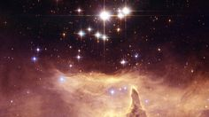 Pismis 24 The small open star cluster Pismis 24 contains extremely massive stars. The brightest object in the picture was once thought to weigh as much as 200 to 300 solar masses.